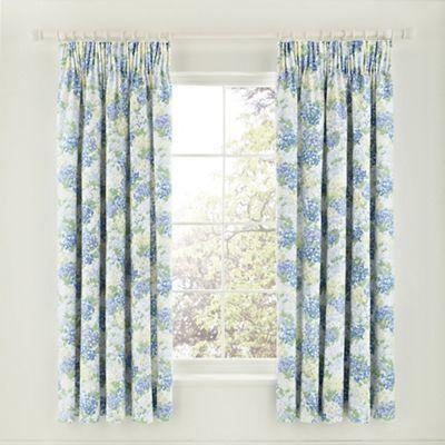 Sanderson blue 'Cottage Garden' curtains   Debenhams
