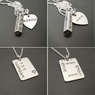 #Bröllopspresenter #Weddinggifts #Personliga #smycken <3 #Personalized #jewelry  #gifts #weddingjewelry #wedding #gifts