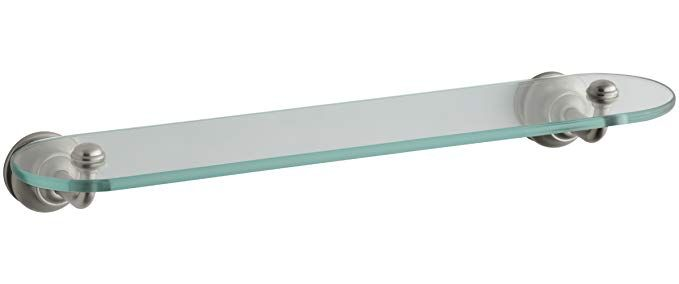 Kohler K 12158 Bn Fairfax Glass Shelf Vibrant Brushed Nickel