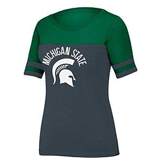 J. America NCAA® Michigan State Spartans Women's Stadium Tee