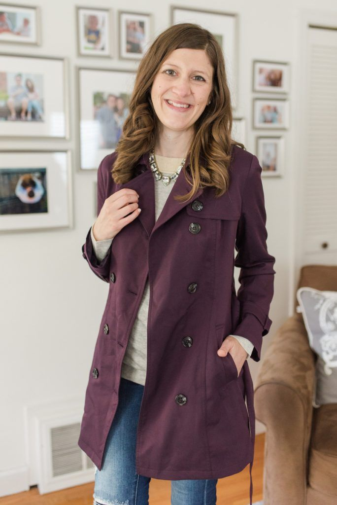 Omeo Trench Jacket from Fate | Fall Stitch Fix review | Stitch Fix clothes | fashion blog | Stitch fix sweaters | Crazy Together blog