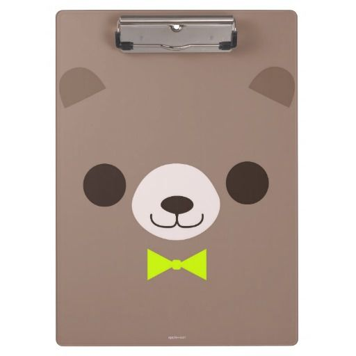 Sweet bear - Clipboard