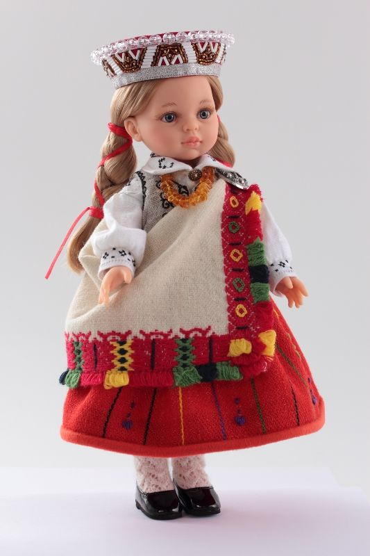 Latvian Woman With Dolls 80