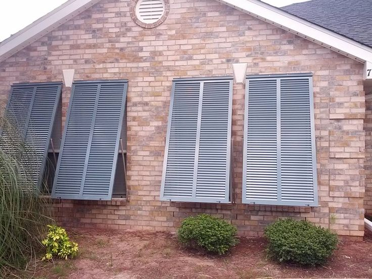 Bahama Shutters Block Harmful UV Radiation And Heat Gain Into Home. They  Look Beautiful While