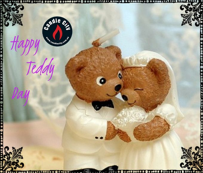 Its's ‪#‎TeddyDay‬ , ‪#‎gift‬ your Special some1 our ‪#‎creatively‬ deigned ‪#‎TeddyShapedCandles‬ leaving them absolutely ‪#‎mesmerised‬  http://goo.gl/M1na3q