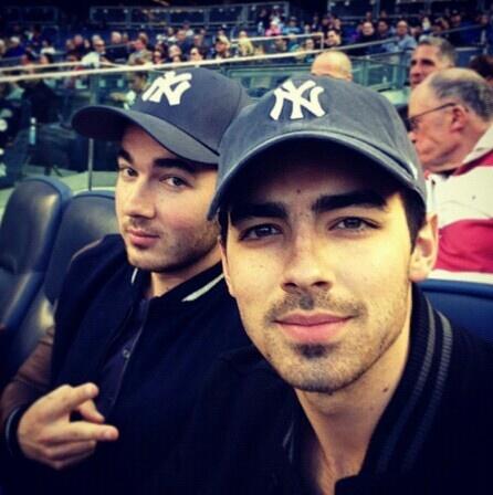 Kevin and Joe at the Yankees game