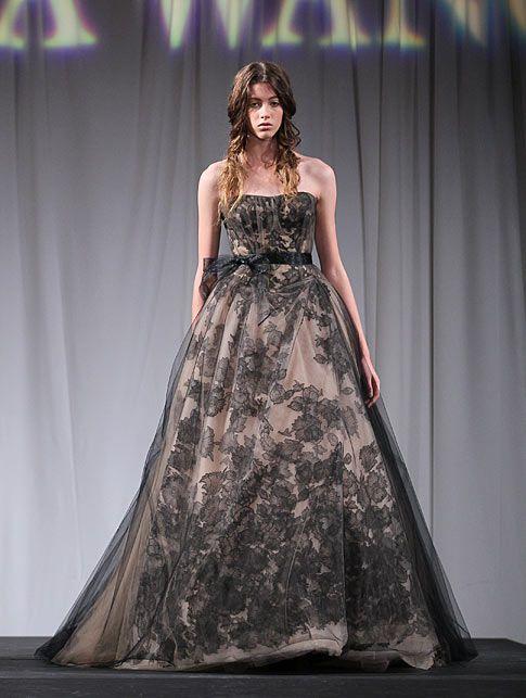 Svatební šaty pro odvážné nevěsty od Vera Wang | blog