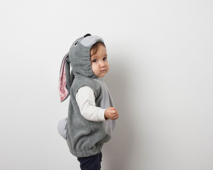 Party Outfits – Bunny Costume 3-4 Years, Rabbit Toddler Costume – a unique product by oKidz on DaWanda