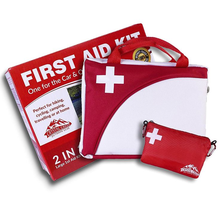 2-in-1 All-Purpose First Aid Kit (115 Pieces)   Bonus Ultralight Wilderness Hiking 1st Aid kit - EMT Approved, Hospital Grade Medical Supplies - Great for hiking, biking, running, hunting and more! * Read more reviews of the product by visiting the link on the image.