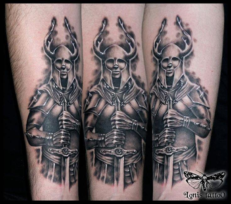 Warrior Viking Tattoo: Viking Warrior Tattoo