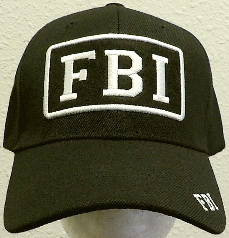 PATCH FBI FEDERAL BUREAU OF INVESTIGATION LAW ENFORCEMENT AGENCY AGENT CAP HAT #PREMIUMHATS #BaseballCap