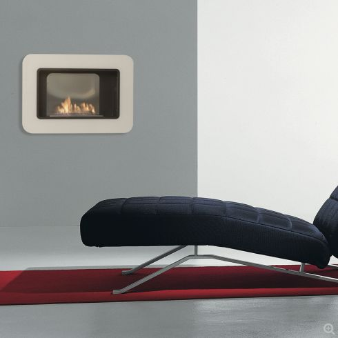 Masterpiece Kristall organic fireplace by Altro Fuoco | www.lovethesign.com/uk