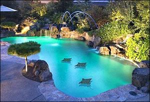 Pretty pool.  lagoon pool pictures - Bing Images