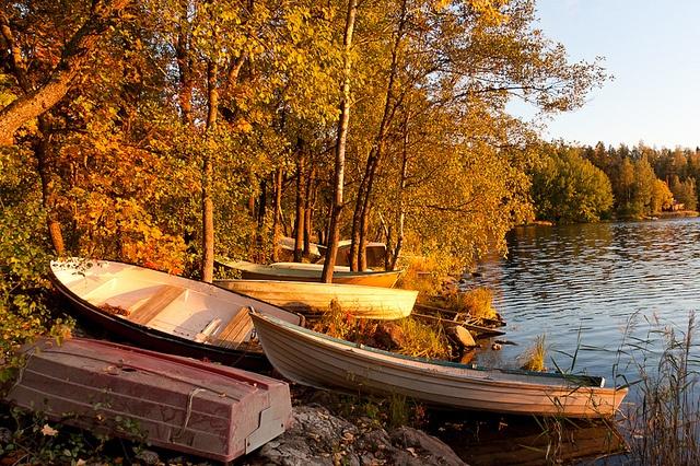 Lake Pitkäjärvi, Espoo, Finland