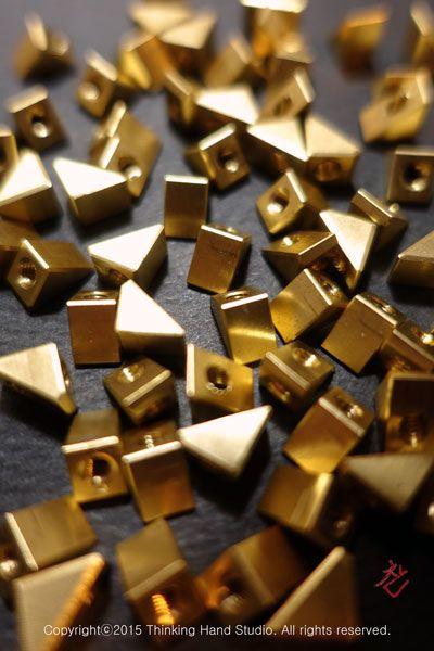 Customized brass nuts
