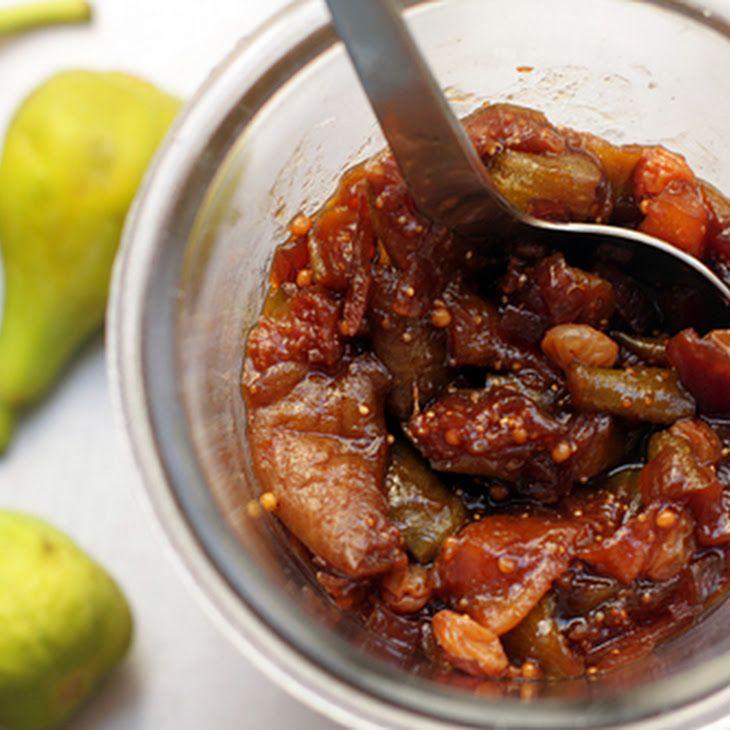 Fig Chutney Recipe | favorite recipes | Pinterest