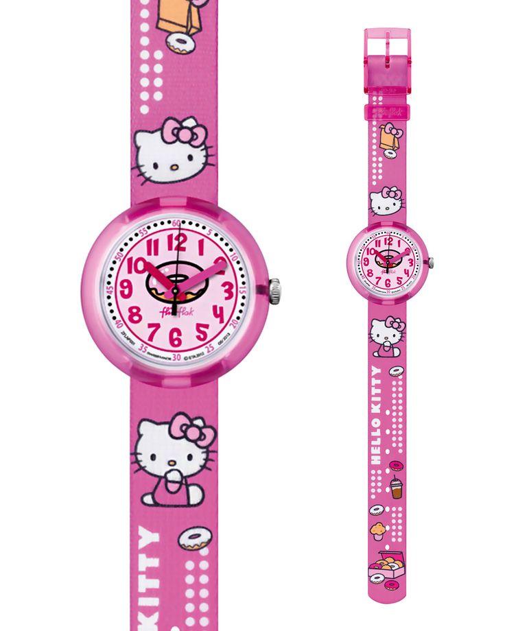 Ρολόι Flik flak Hello Kitty ZFLNP001