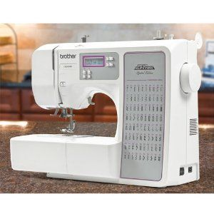 Brother Sewing Machine Computerized CE8080 Special Project Runway Edition,