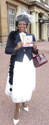 ArmanikEdu: British-Nigerian singer Patti Boulaye receives OBE...