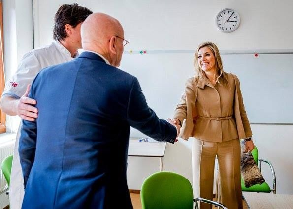 Queen Maxima visited the psychiatry department of the Academic Medical Center (Dutch: Academisch Medisch Centrum – AMC) in Amsterdam    6 APR