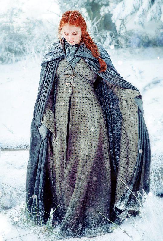 "stormbornvalkyrie: ""  ♕ Sansa Stark in Game of Thrones Season 6 """