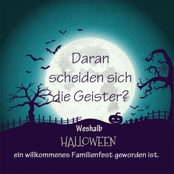Halloween: Warum es ein willkommenes Familienritual geworden ist. Ein Plädoyer für ein Fest, das in Deutschland auch viele Gegner hat.