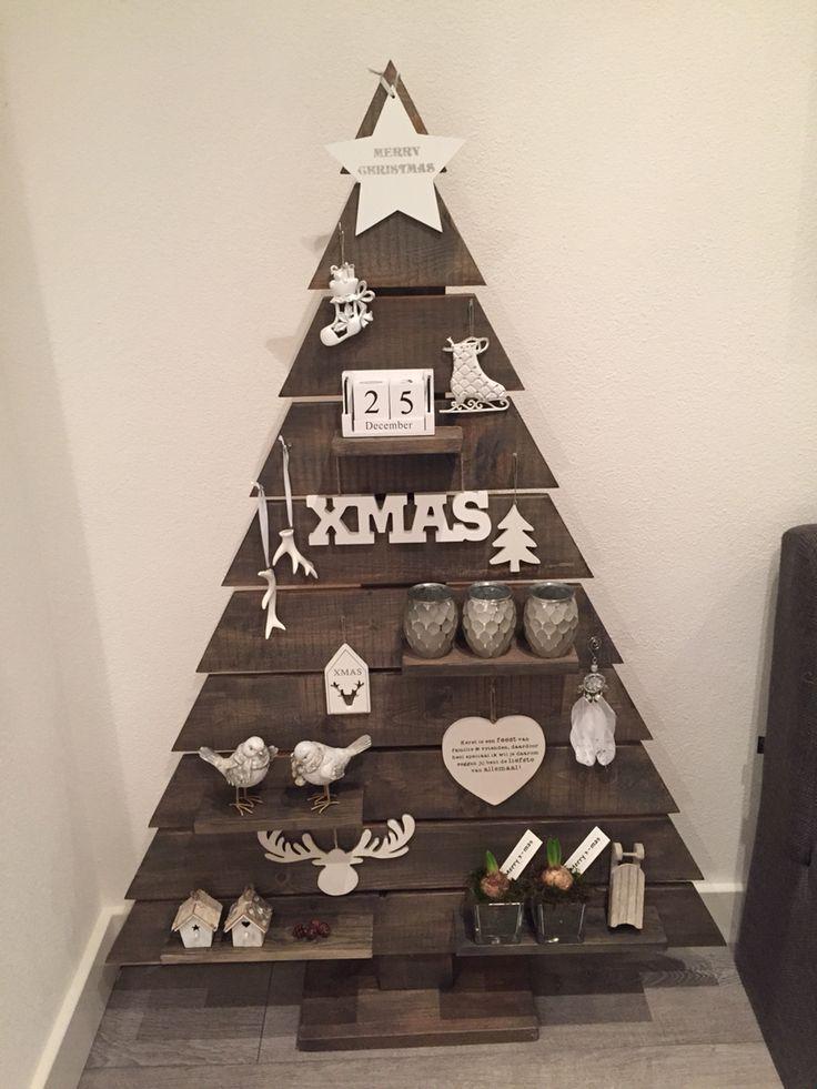25 beste idee n over landelijke kerstbomen op pinterest for Houten tuinkast intratuin