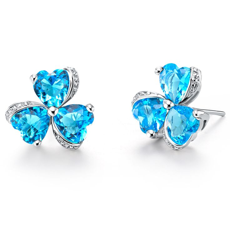 Find More Stud Earrings Information about Cheap Earrings Brincos Bijuterias Clover Stud Vintage Earring for Women Brinco Zirconia Fashion Jewelry Red/Purple/Blue Ulove490,High Quality earings,China earings gold Suppliers, Cheap earring settings white gold from ULOVE Fashion Jewelry on Aliexpress.com