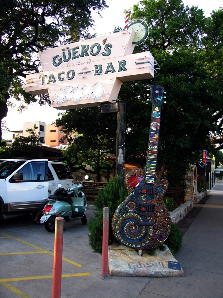 Guero's Taco Bar, 1412 South Congress Avenue, Austin., TX 78704. #austin, #food, #gueros