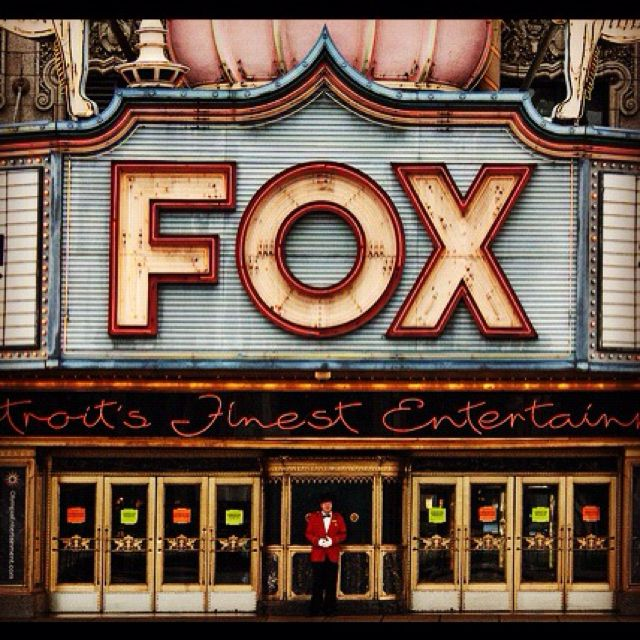 Fox Theatre, Detroit - Awesome!