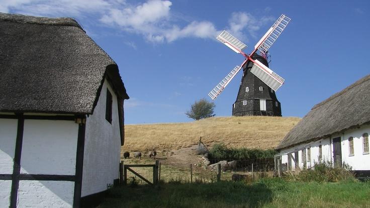 Skovsgaard Mølle, Langeland Denmark - town where Therese's parents live
