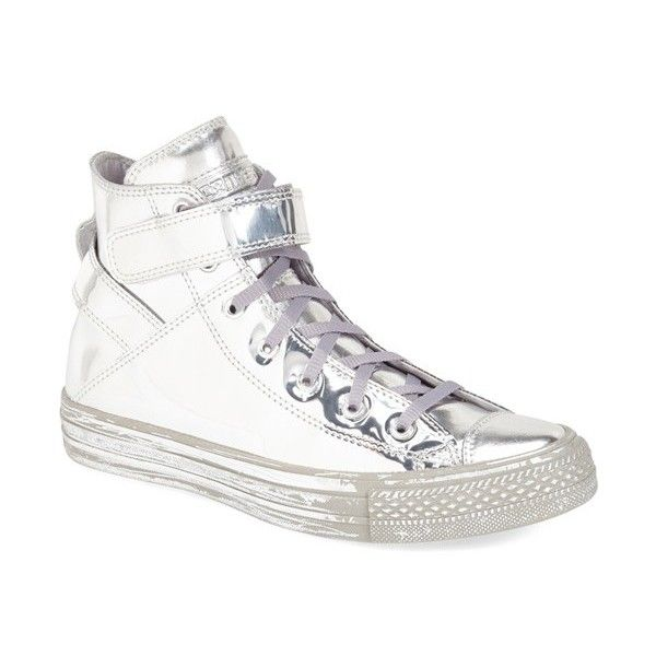 Converse Chuck Taylor All Star 'Brea - Metallic' High Top Sneaker ($100)