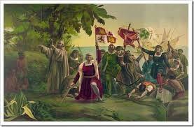 12  – Por primera vez (si se prescinde de la gesta sin consecuencias de los vikingos) un grupo de europeos pisaba tierras americanas, aunque ni Colón ni sus tripulantes eran conscientes de ello.