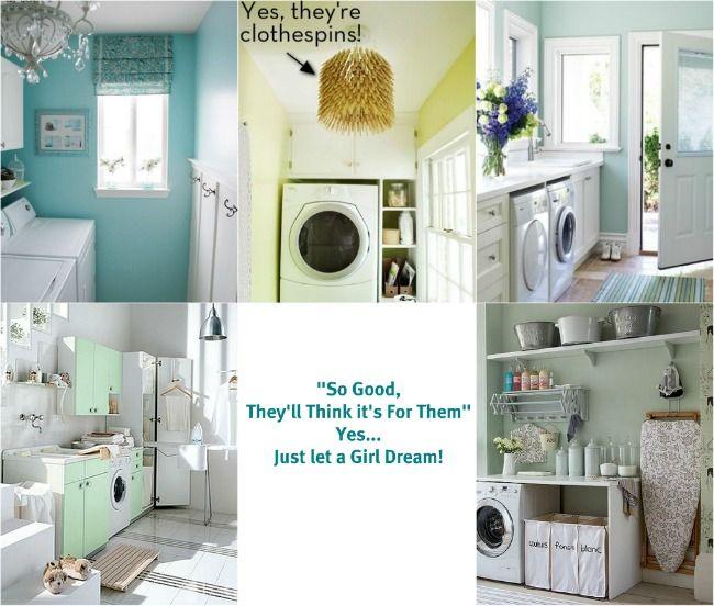 גם חדר הכביסה יכול להיות מעוצב ונעים :)