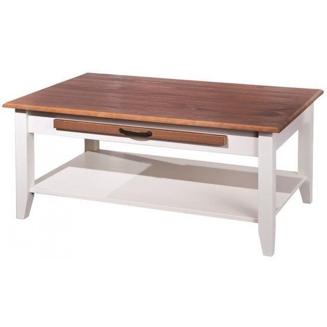 Table de cuisine blanche table de salle manger blanche et for Table salle manger la redoute