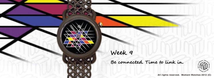 Our lives are made up of a series of seemingly random events: my moments criss-crossing with yours. This geometric watch design was inspired by Lily's drawing. She wanted to express her appreciation for every connection she has made in her life.  The triangles on this design, therefore, signify the bond which has been formed once the lines have intersected. So,be connected, be linked in. Because you never know what the bigger picture of your life will end up looking like.