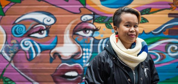 Mural Project Connects UBC Arts Alumna and Downtown East Side - start an evolution UBC   Connect   Engage   Donate