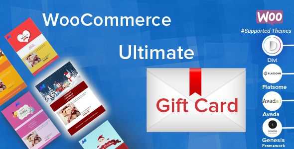 Woocommerce Ultimate Gift Card Sell Gift Cards Gift Card Template Gift Card