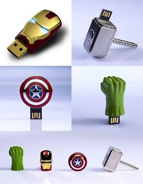Avengers USB Drive @Amber Leavell