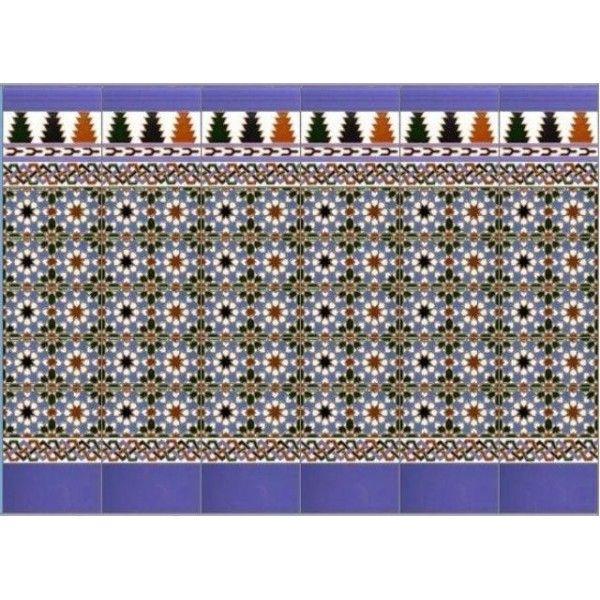 17 best images about azulejos artesanos granadinos on - Azulejos patio andaluz ...