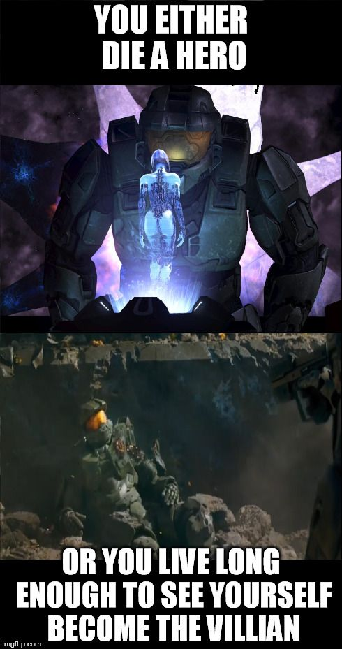 One interpretation of new Halo 5 Trailer