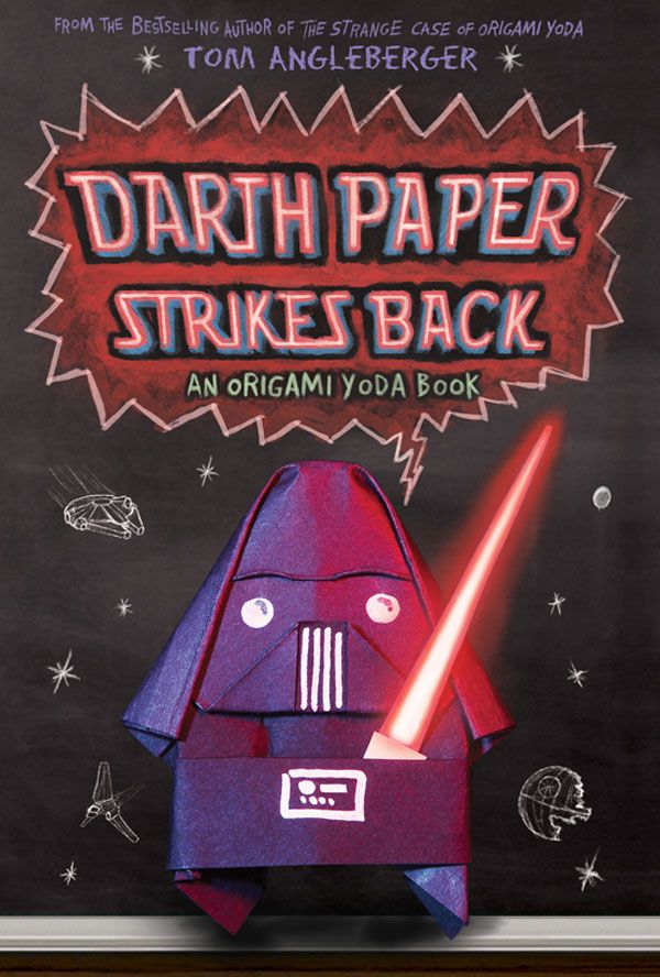 Darth Paper Strikes Back by Tom Angleberger    The sequel to Origami Yoda might even be better, plus he's from Roanoke, VA!