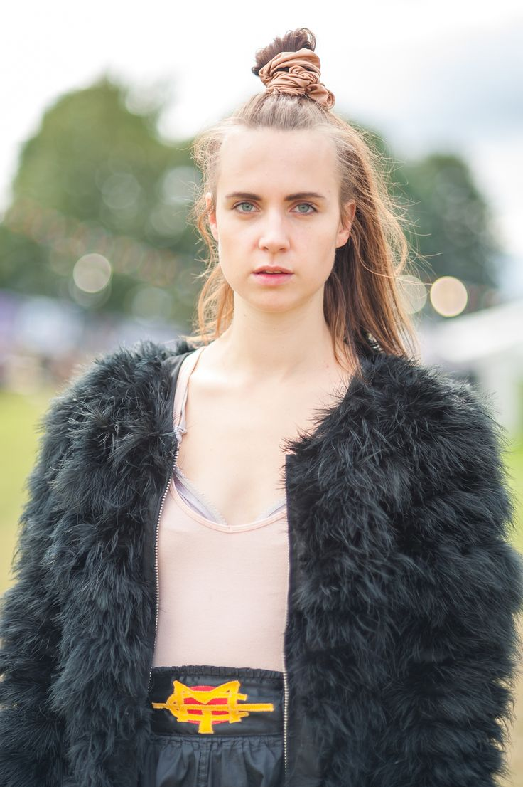 MØ (aka Karen Marie Ørsted) at Leeds Festival, August 2014  One of my highlights of Leeds Festival was having some time with Danish pop singer MØ to shoot a few portraits. Here's one, and a full gallery is over on Gigwise.