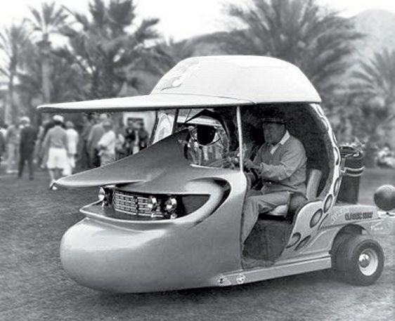 Une voiturette très original !
