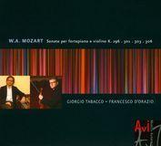 Mozart: Sonate per fortepiano e violino [CD]