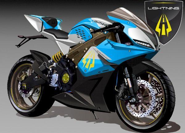 2013 Lightning Electric Superbike