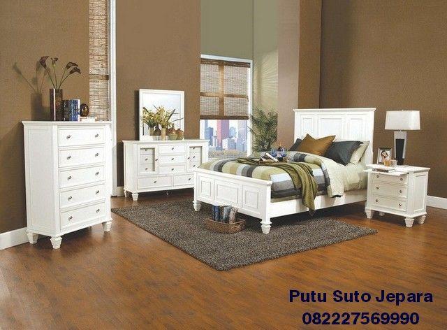 35 Desain Set Kamar Tidur Minimalis Modern Putih   Set ...