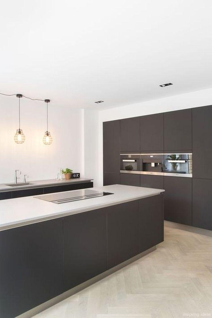 Moderne Küchenschränke Ideen, um mehr Inspiratio…
