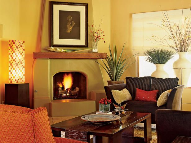 35 best southwestern style living room images on pinterest for Southwestern fireplaces