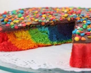 Gâteau d'anniversaire minceur en arc-en-ciel : http://www.fourchette-et-bikini.fr/recettes/recettes-minceur/gateau-danniversaire-minceur-en-arc-en-ciel.html